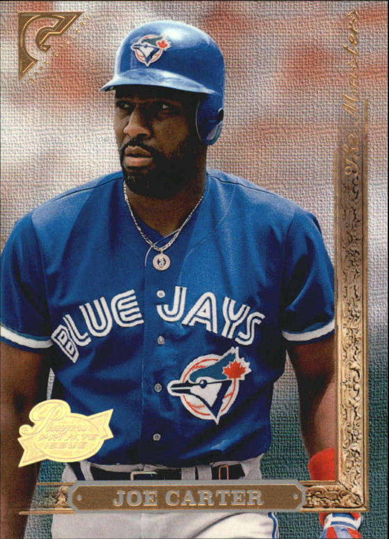 1996 Topps Gallery Players Private Issue #165 Joe Carter