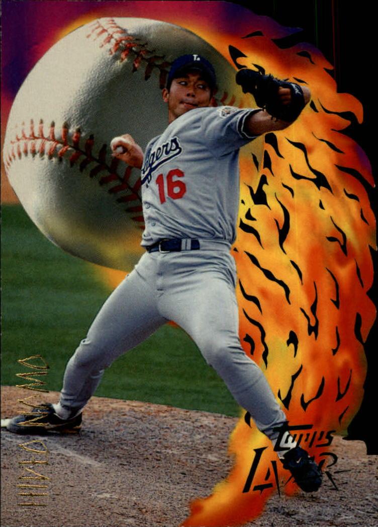 1996 Topps Laser #60 Hideo Nomo
