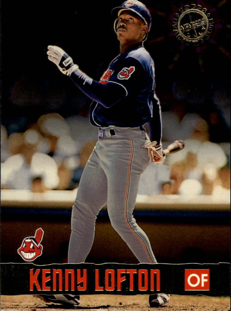 1996 Stadium Club Members Only 50 #21 Kenny Lofton