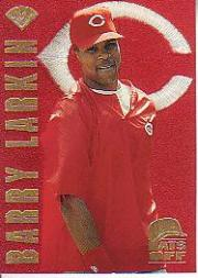 1996 Leaf Hats Off #2 Barry Larkin