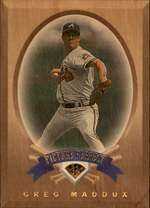 1996 Leaf Picture Perfect #3 Greg Maddux