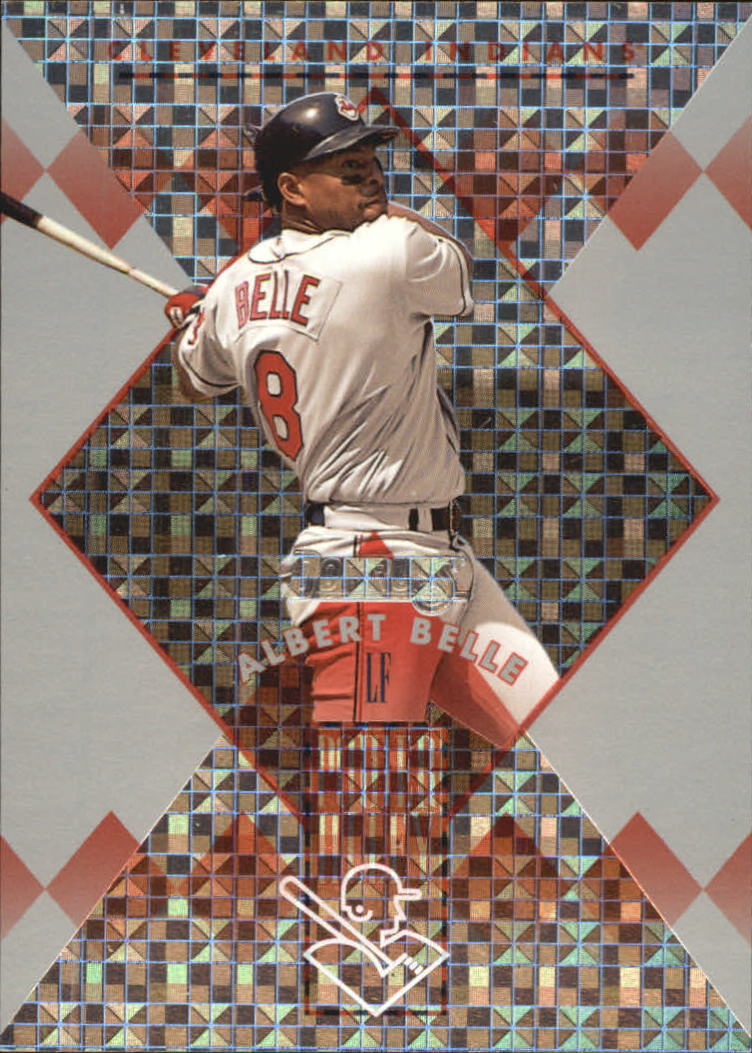 1996 Donruss Power Alley #4 Albert Belle