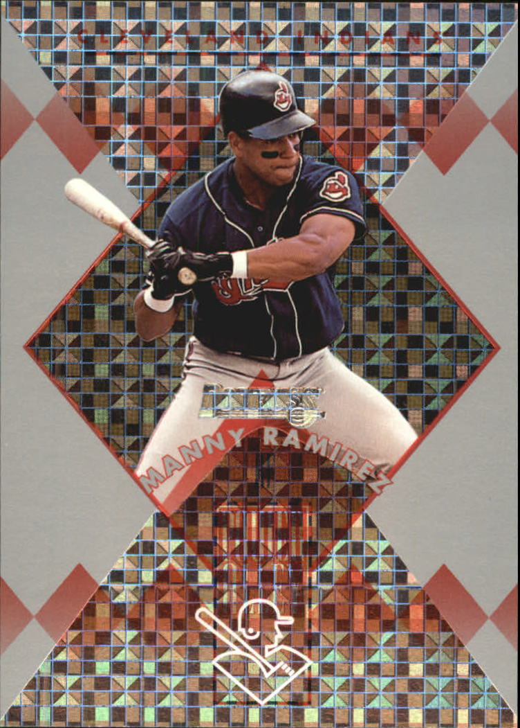 1996 Donruss Power Alley #9 Manny Ramirez