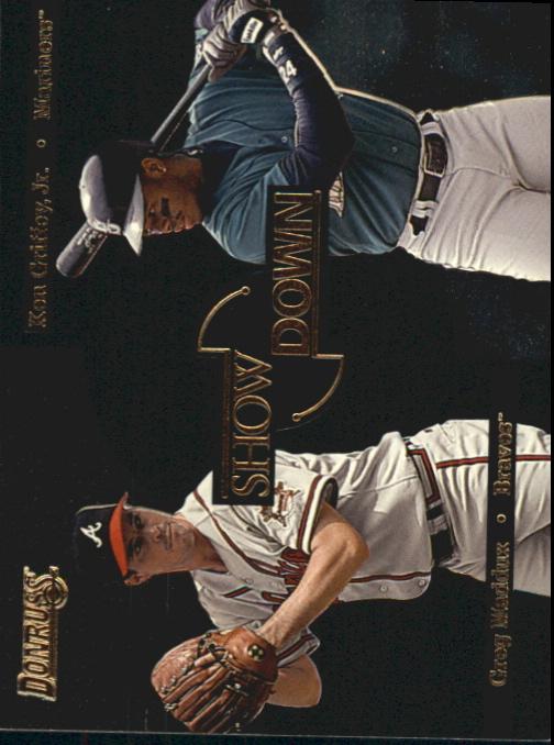 1996 Donruss Showdown #3 K.Griffey Jr./G.Maddux