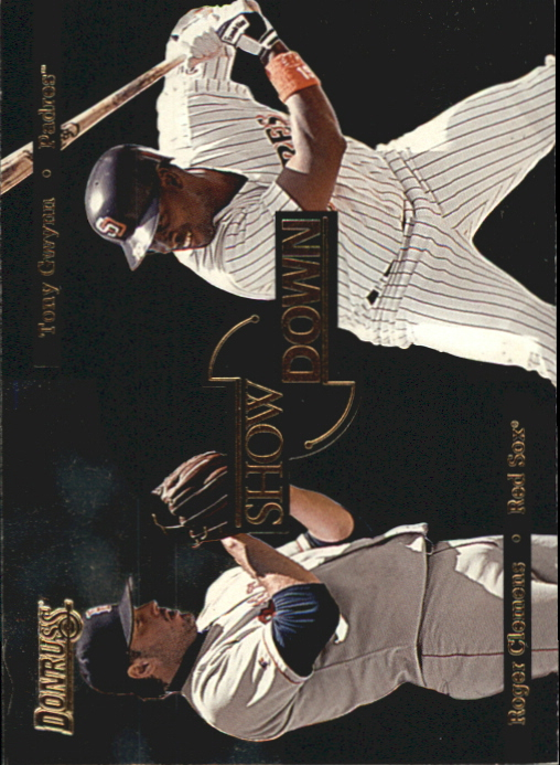 1996 Donruss Showdown #4 T.Gwynn/R.Clemens