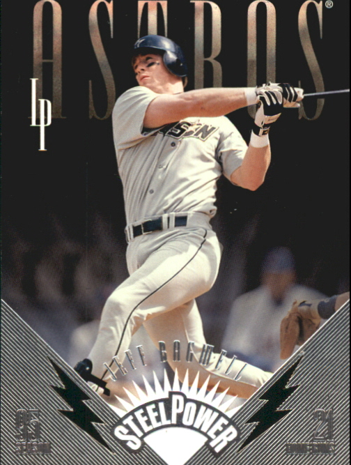 1996 Leaf Preferred Steel Power #7 Jeff Bagwell