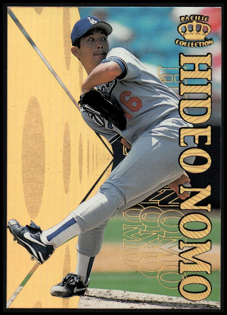 1996 Pacific Hometowns #HP19 Hideo Nomo