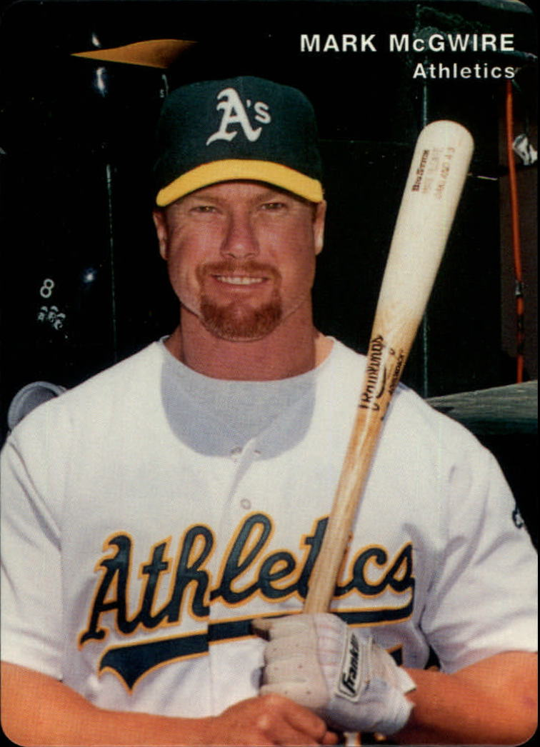1996 A's Mother's #2 Mark McGwire