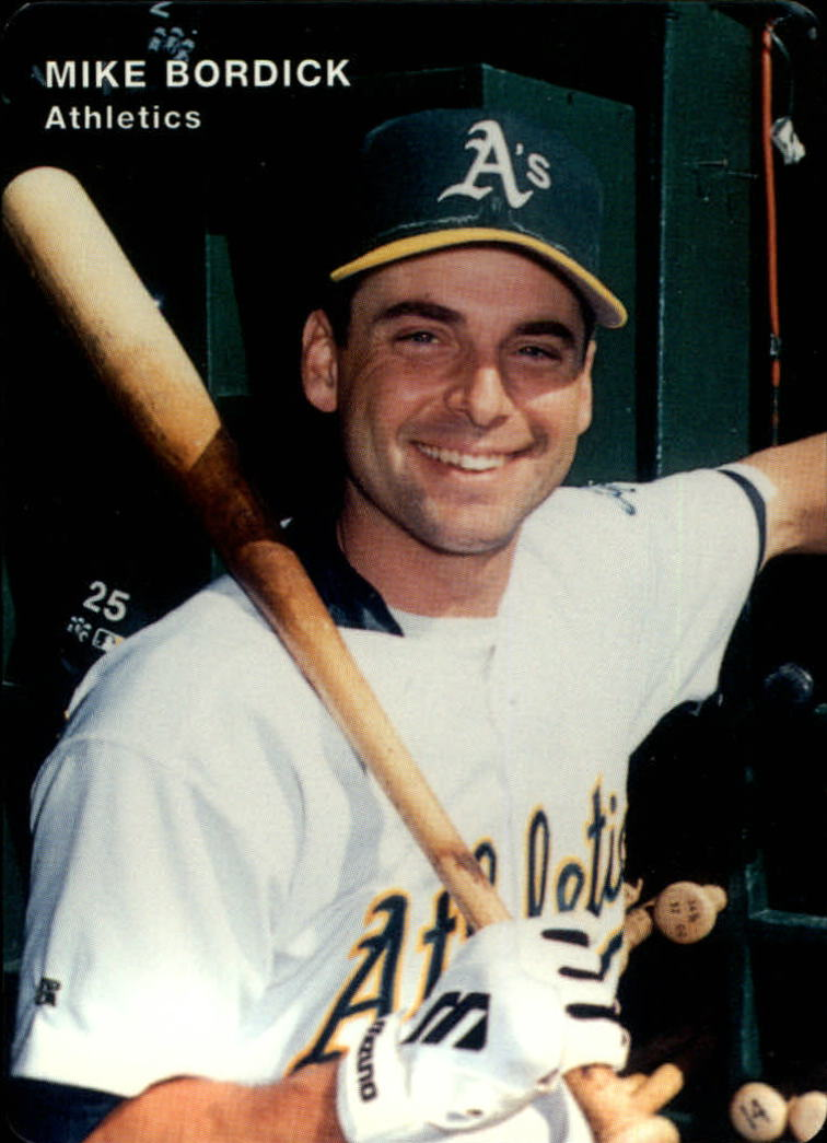 1996 A's Mother's #5 Mike Bordick