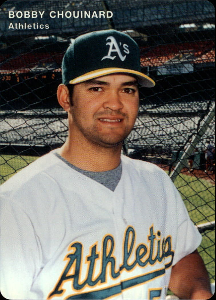 1996 A's Mother's #16 Bobby Chouinard