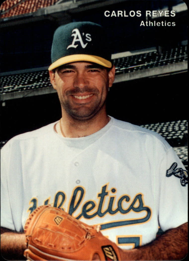1996 A's Mother's #21 Carlos Reyes