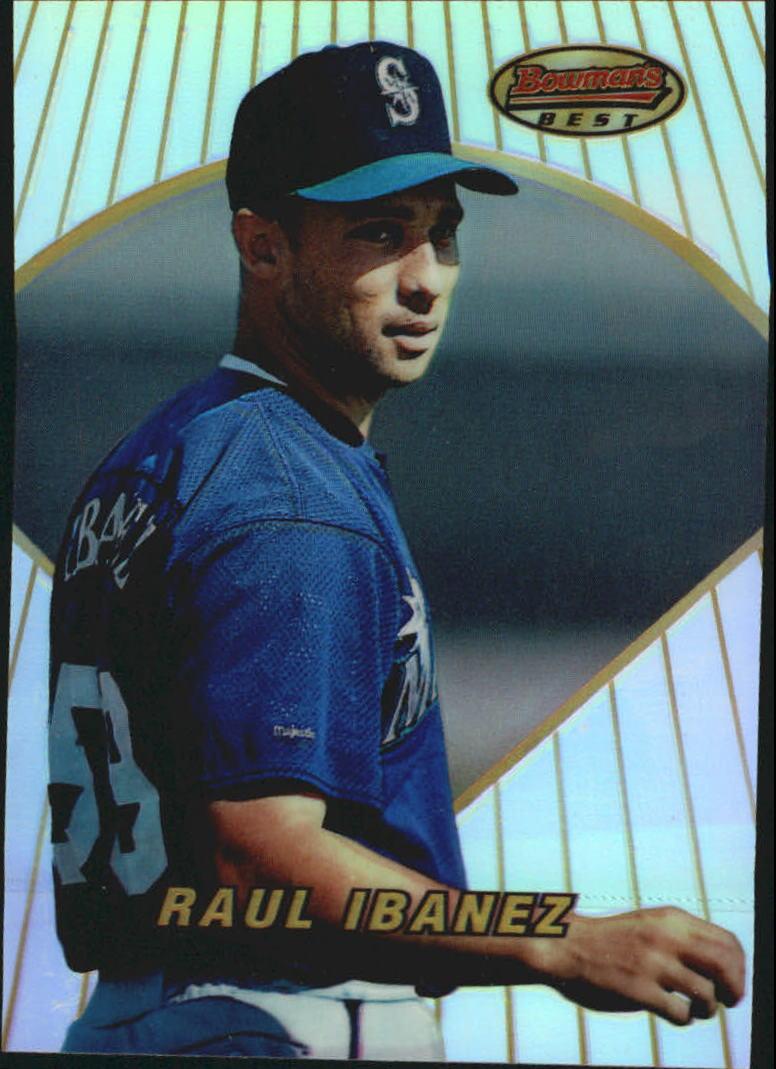 1996 Bowman's Best Refractors #172 Raul Ibanez