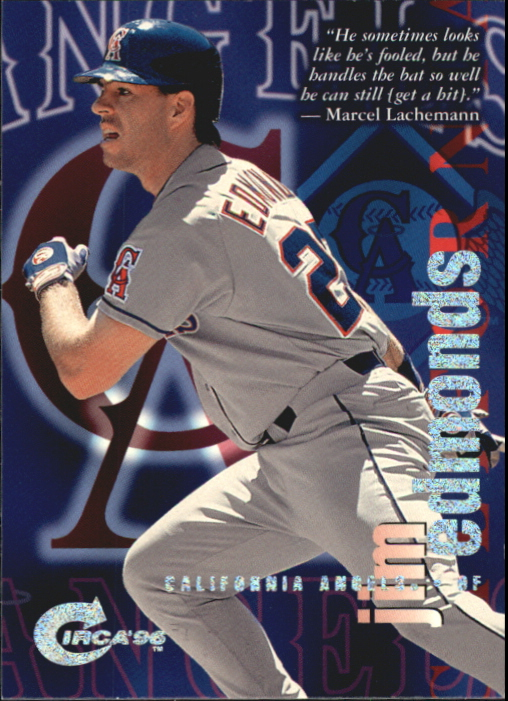 1996 Circa Rave #18 Jim Edmonds