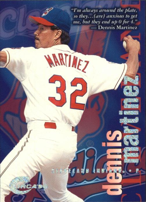 1996 Circa Rave #34 Dennis Martinez
