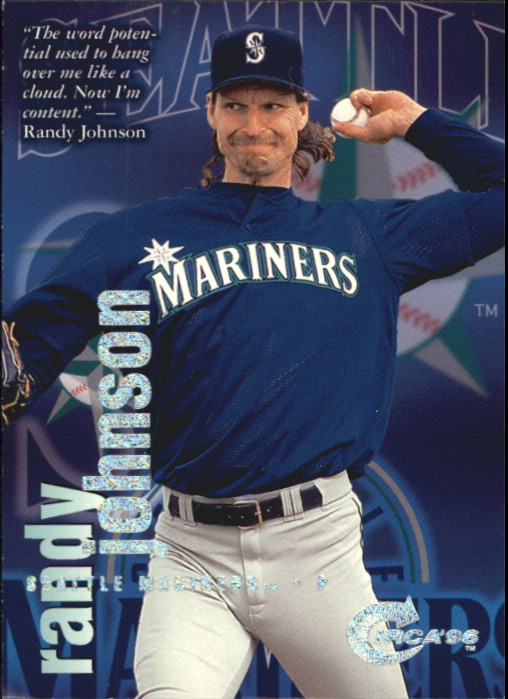 1996 Circa Rave #79 Randy Johnson