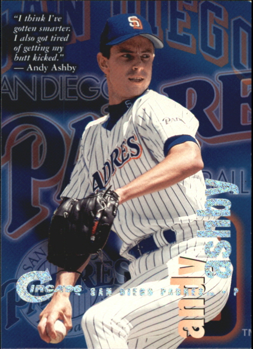 1996 Circa Rave #183 Andy Ashby