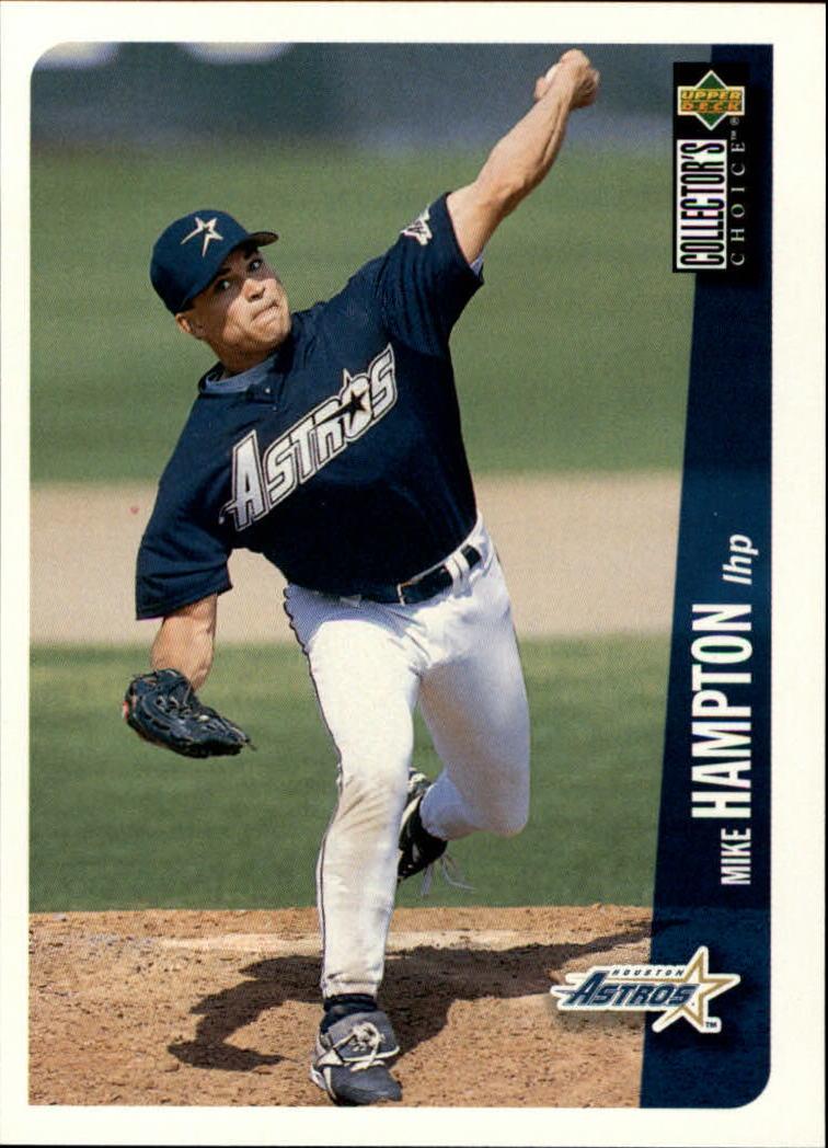1996 Collector's Choice #158 Mike Hampton
