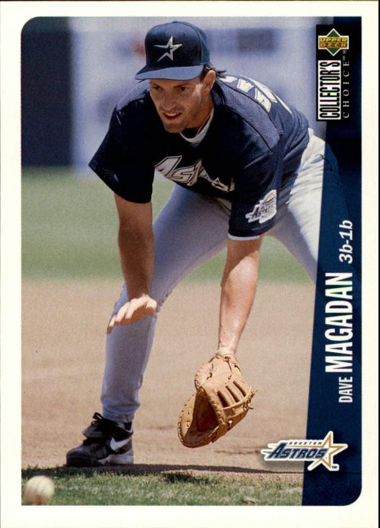 1996 Collector's Choice #163 Dave Magadan