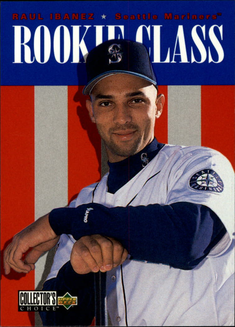 1996 Collector's Choice #431 Raul Ibanez RC