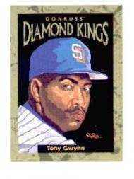 1996 Donruss Diamond Kings #9 Tony Gwynn