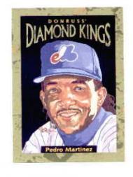 1996 Donruss Diamond Kings #12 Pedro Martinez