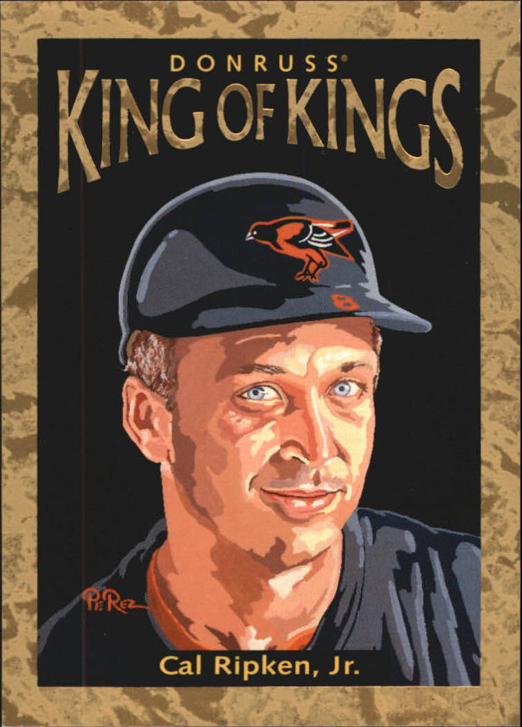 1996 Donruss Diamond Kings #30 Cal Ripken