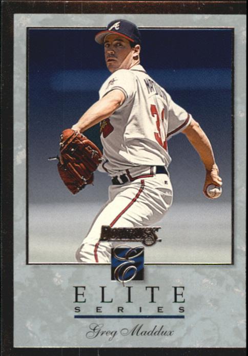 1996 Donruss Elite #68 Greg Maddux