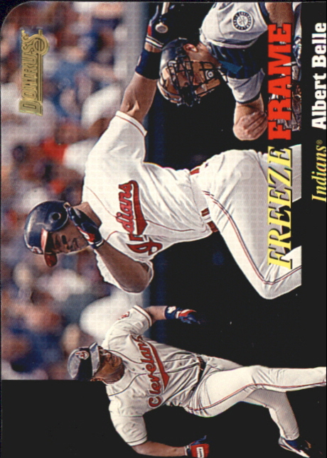 1996 Donruss Freeze Frame #6 Albert Belle