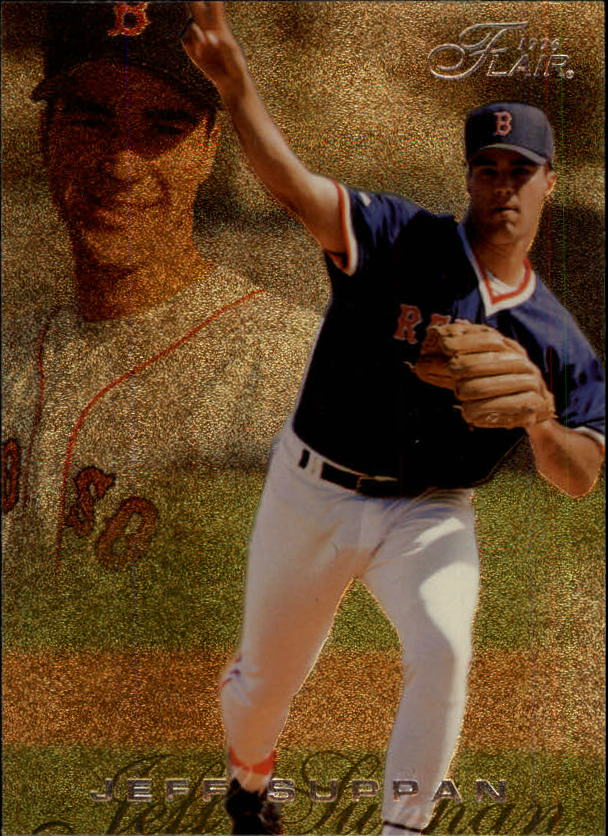 1996 Flair #27 Jeff Suppan