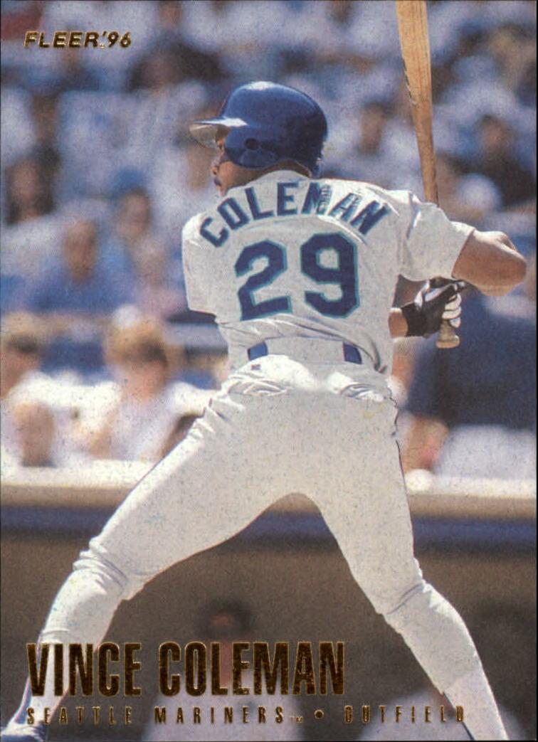 1996 Fleer #233 Vince Coleman