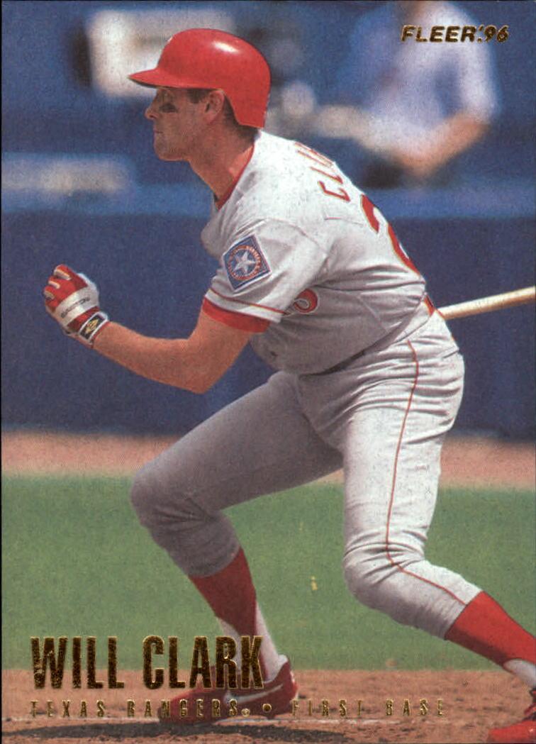 1996 Fleer #247 Will Clark