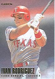 1996 Fleer #260 Ivan Rodriguez