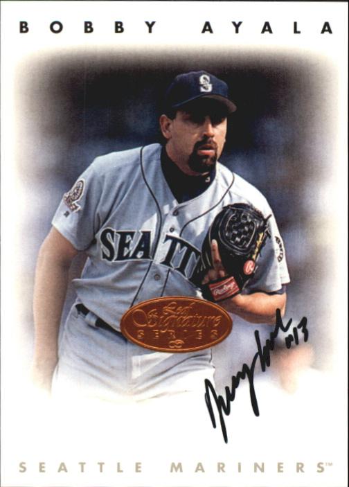 1996 Leaf Signature Autographs #13 Bobby Ayala