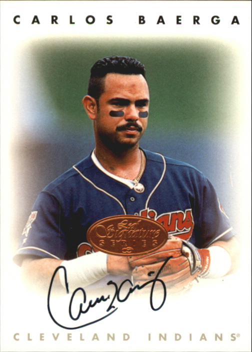 1996 Leaf Signature Autographs #14 Carlos Baerga