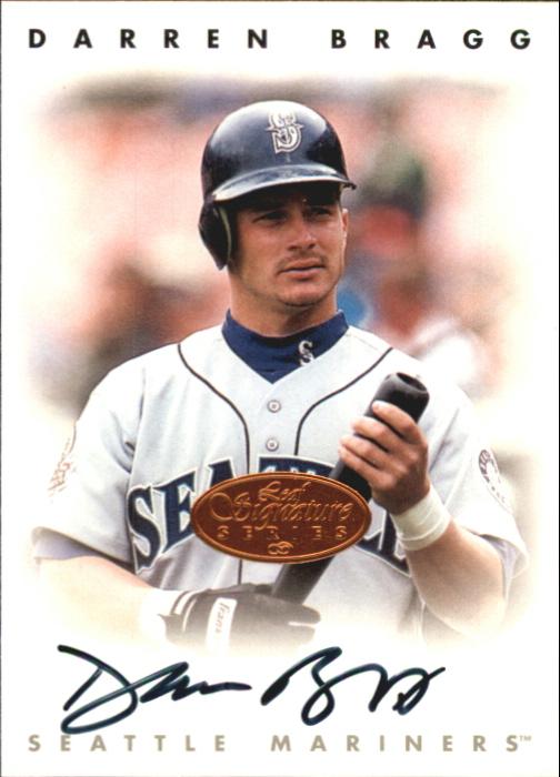 1996 Leaf Signature Autographs #32 Darren Bragg