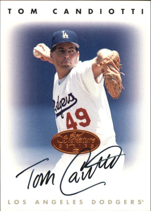 1996 Leaf Signature Autographs #39 Tom Candiotti