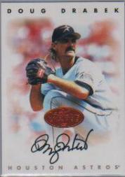 1996 Leaf Signature Autographs #58 Doug Drabek