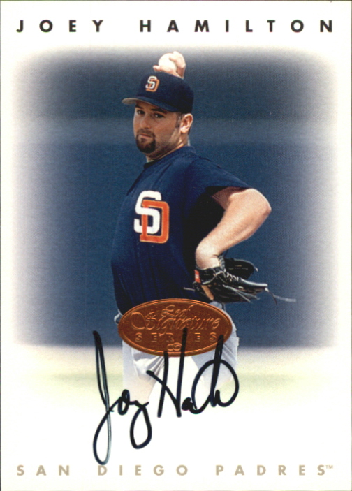 1996 Leaf Signature Autographs #90 Joey Hamilton