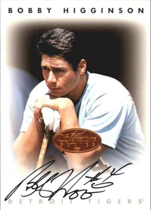 1996 Leaf Signature Autographs #101 Bobby Higginson