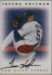 1996 Leaf Signature Autographs #105 Trevor Hoffman