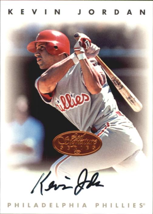 1996 Leaf Signature Autographs #122 Kevin Jordan