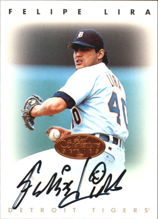1996 Leaf Signature Autographs #136 Felipe Lira