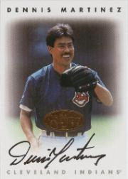 1996 Leaf Signature Autographs #145 Dennis Martinez