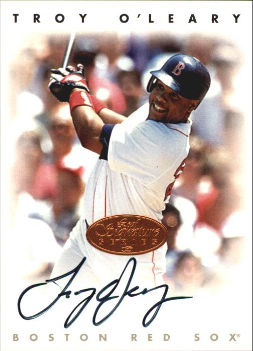 1996 Leaf Signature Autographs #173 Troy O'Leary