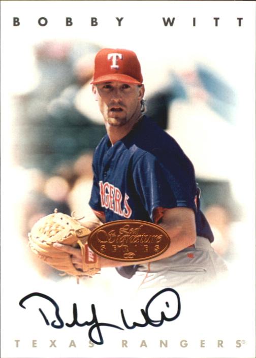 1996 Leaf Signature Autographs #248 Bobby Witt