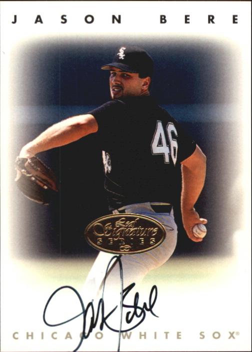 1996 Leaf Signature Autographs Gold #23 Jason Bere
