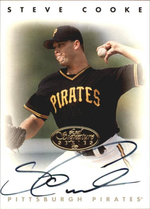 1996 Leaf Signature Autographs Gold #48 Steve Cooke