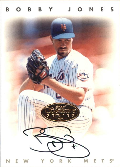 1996 Leaf Signature Autographs Gold #119 Bobby Jones