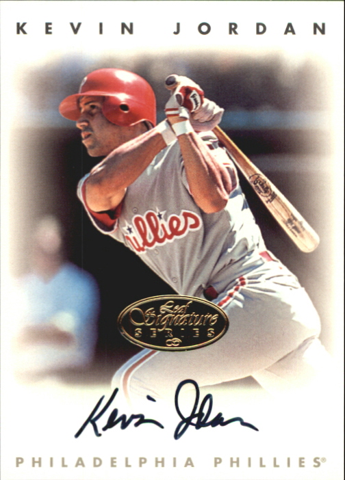 1996 Leaf Signature Autographs Gold #122 Kevin Jordan