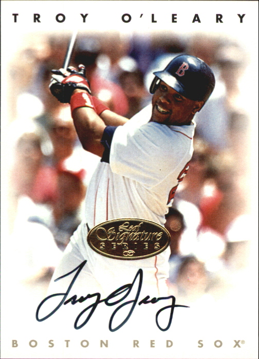1996 Leaf Signature Autographs Gold #172 Troy O'Leary